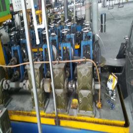 二手焊管机组 高频直缝焊管 薄壁不锈钢冲孔机全自动焊管机械
