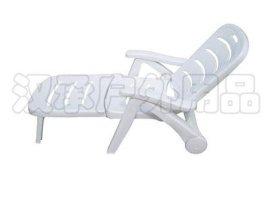 折叠塑料躺椅