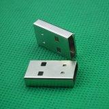無線usb滑鼠藍牙接收器U盤小狗鐵殼筆記本移動接滑鼠連接器外殼