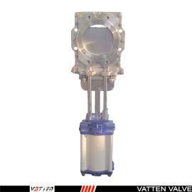 德国VATTENz673F-16P 法兰截止阀中德合资上海工厂 气动304刀闸阀