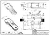 厂家供应QF-618 304不锈钢搭扣
