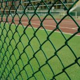 綠色球場防護網高爾夫球場安全圍網球場防鏽方孔圍欄網