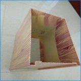 異形木紋方通包柱鋁單板 2.5厚方形鋁單板包柱幕牆