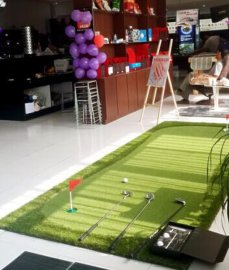 自产自销高尔夫用品,移动果岭,便携式果岭