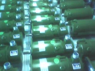 稀土永磁直流伺服电机166SZK-C-20