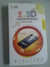 苹果4/4S (iphone4/4s )2.5D钢化玻璃保护屏