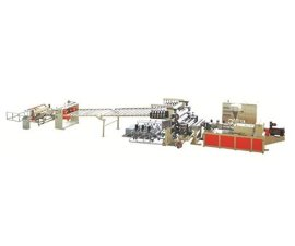金韦尔PVC自由发泡板材生产线