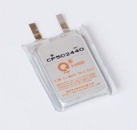 方形软包电池CP502440 孚安特定制**锰电池