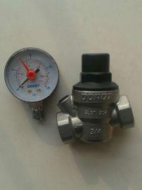 DOROT多若特带压力表不锈钢可调式减压阀