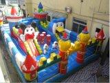 大型 充氣玩具城堡、兒童卡通城堡、充氣遊樂園廠家直銷