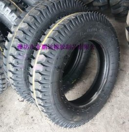 6.00-16农用三轮车轮胎 羊角花纹拖拉机轮胎