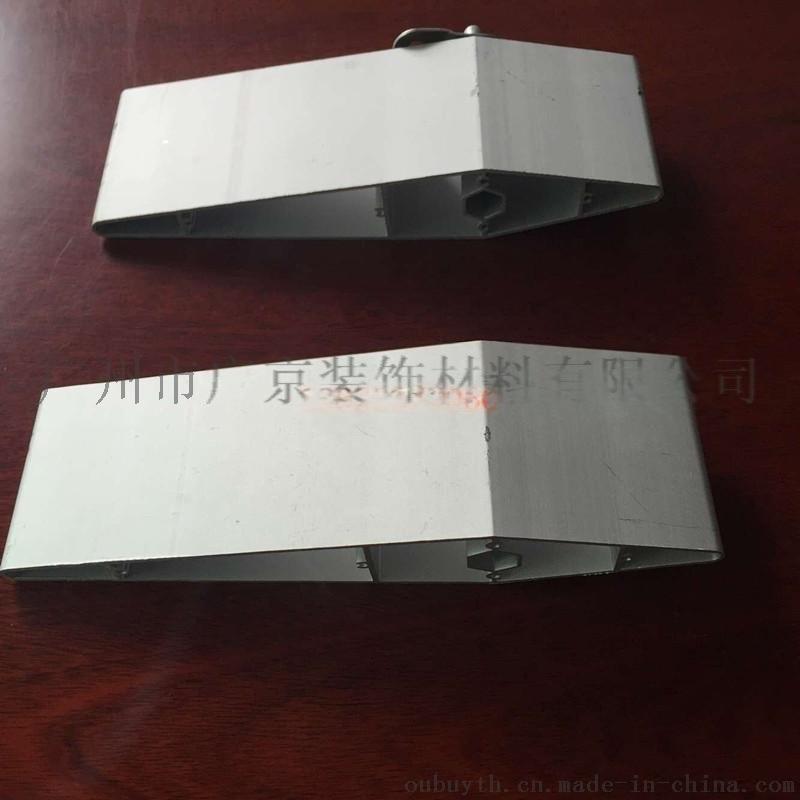 东风日产4s店外墙银色铝格栅