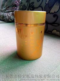 白盛園 高檔茶葉滾筒盒