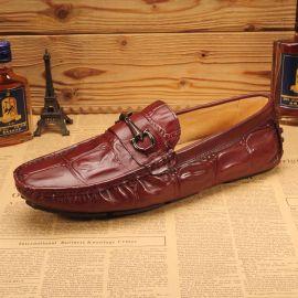 工厂直销豆豆鞋 真皮舒适驾车鞋 男鞋批发 商务休闲男鞋