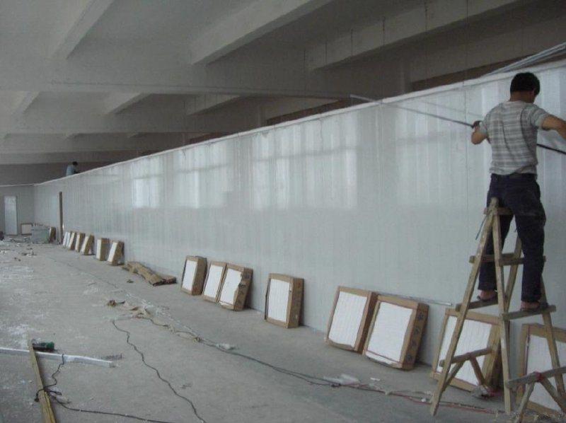 南通翔展定做彩鋼夾芯板圍牆、建築工地圍牆