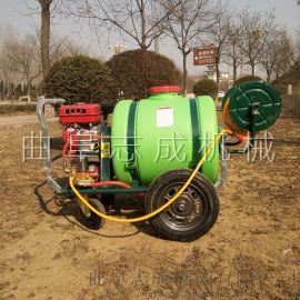 厂家直销160L推车打药机果园用汽油高压喷雾器