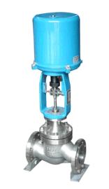ZDLP型电子式电动蒸汽 水单座调节阀 DN80 DN100 DN125不锈钢阀门