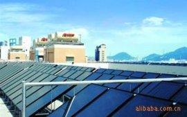上海阳台分体平板壁挂式太阳能