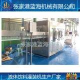 飲料三合一灌裝機設備供應 小型塑料瓶灌裝機械