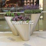 广东厂家玻璃钢欧式花钵 广场小区绿化花钵玻璃钢花盆