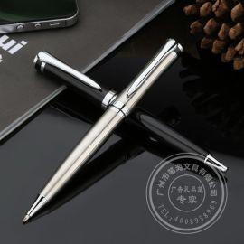 金属圆珠笔 旋动金属礼品笔 免费设计LOGO订做 金属笔定做厂商
