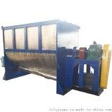 廠家供應臥式雙螺帶混料機  飼料化肥乾粉粒料混合機