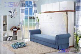 福建AA功能隐形床 壁床 翻床