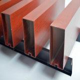 定製造型廣告牌鋁方通 熱轉印木紋鋁管