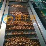 DR5青豆油炸设备 烧电青豆油炸机 青豆油炸生产线