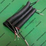 广东弹簧电线 ,螺旋伸缩曲线 2芯电线电缆