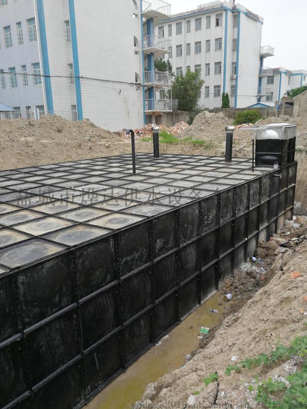 抗浮式地埋一體化消防泵站