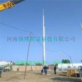 35米獨立鋼管避雷塔