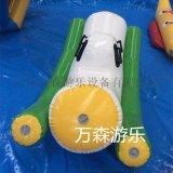 移动水乐园 充气跷跷板 充气压板 充气浮具 水上乐园 厂家定做