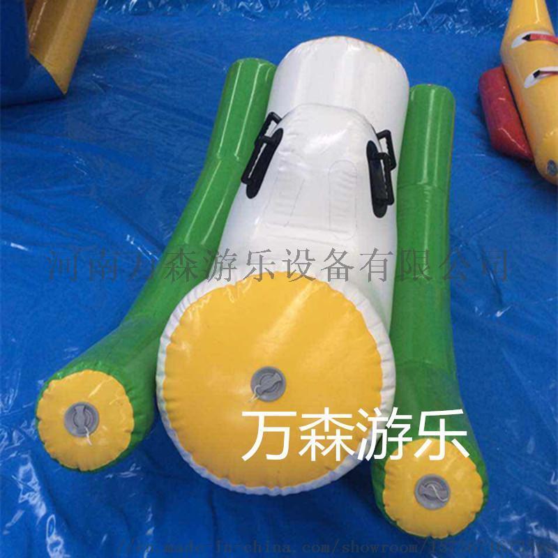 移動水樂園 充氣蹺蹺板 充氣壓板 充氣浮具 水上樂園 廠家定做