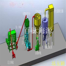 济南双螺杆膨化机 预糊化淀粉膨化机 淀粉粘合剂