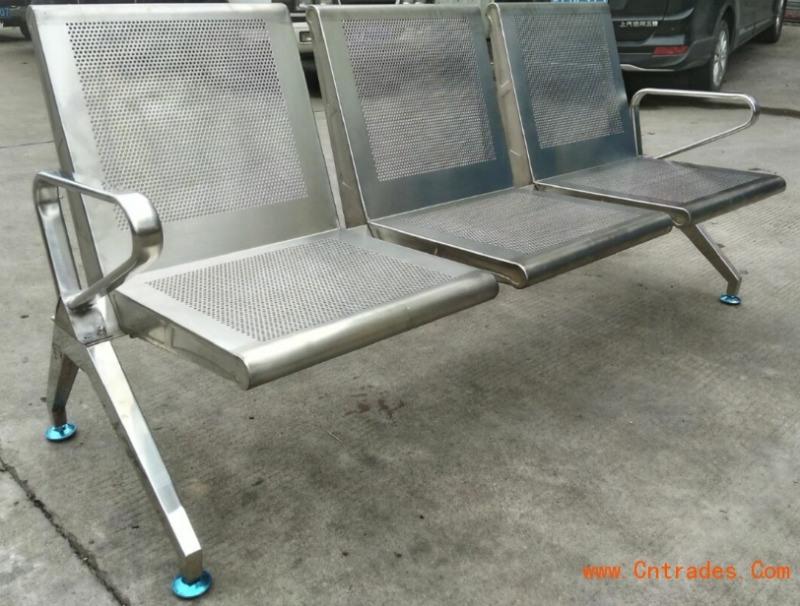 三人位排椅-不锈钢长椅子-医院等候诊椅
