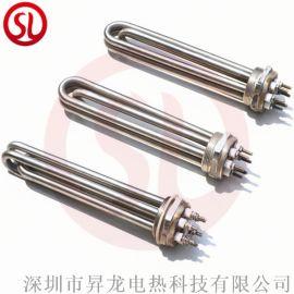 六角法兰电加热管定做大功率工业用不锈钢加热管器