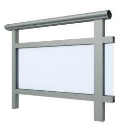 天津兴发铝材厂家直销铝合金栏杆护栏铝型材