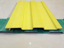 玻璃钢采光板 屋顶单层隔热波纹彩钢瓦 彩钢楞板