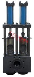 快速换网过滤器  双立柱式液压换网器
