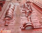 A5双排螺栓管夹,陕西地区管夹批发