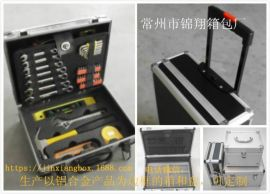 定制高强度手提铝合金铝箱、仪器仪表箱、工具箱