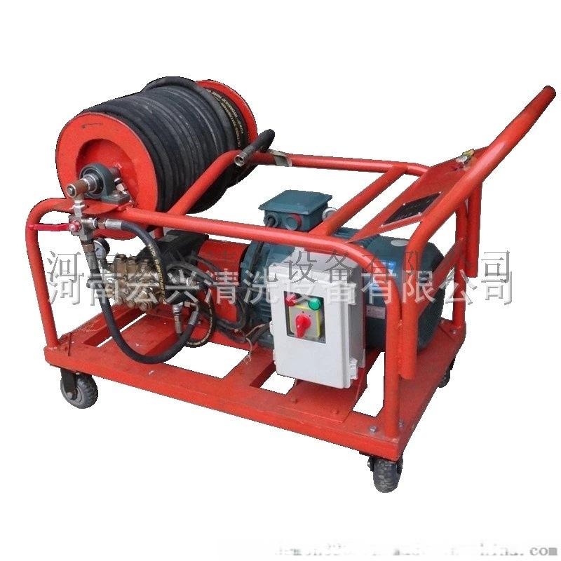 高压水清洗机 下水管道疏通设备 管道淤泥清洗机