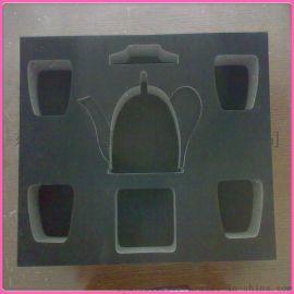 厂家定制礼品盒EVA内衬 包装海绵托盘 植绒EVA包装盒 可丝印LOGO