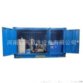 高压清洗机 输油管道疏通清洗 油田大型输油管清洗机