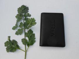 真皮仿皮名片夹 名片包生产订做 上海皮具厂FL416名片夹 男式