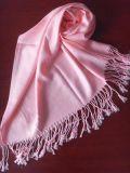 仿羊绒素色围巾(HHSC-0808)
