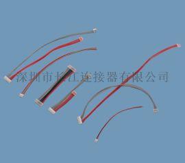 D080  束加工,极细电子线规格-CJT连接器厂家