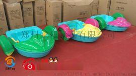 儿童手摇船PVC充气水池水上滚筒 气模