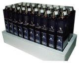 蓝色透明外壳开口式电力配电盘蓄电池